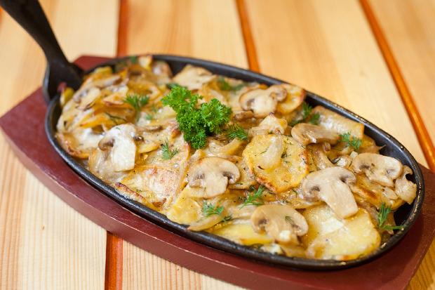 Рецепт с курицей на сковородке